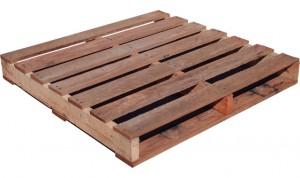 Standard wood pallet, 2 way