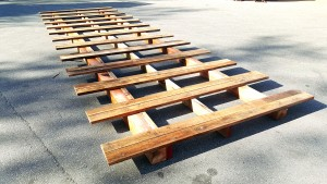 Custom made pallets