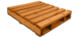 2 way standard wooden pallet for sale