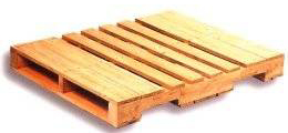 4 way standard wooden pallet for sale