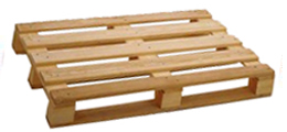 block wood pallet, plywood